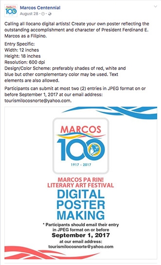 Artists are Trolling the Marcos Pa Rin! Poster Making Contest on Twitter 1