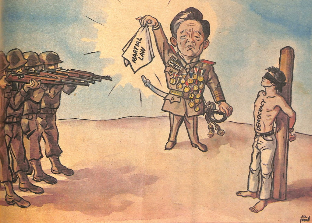 Look Back At The Philippine Free Press' Marcos-Era Editorial Cartoons 9
