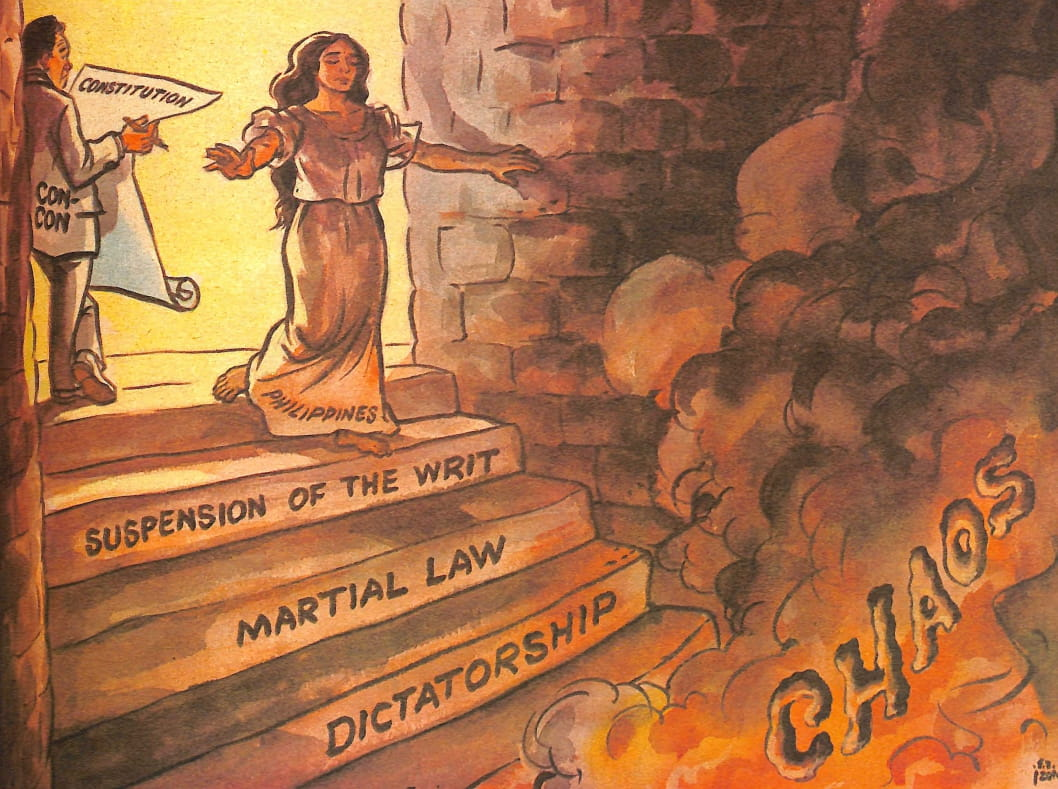 Look Back At The Philippine Free Press' Marcos-Era Editorial Cartoons 10