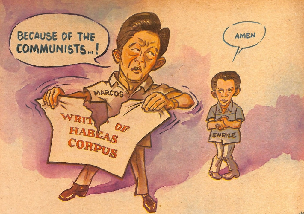 Look Back At The Philippine Free Press' Marcos-Era Editorial Cartoons 12