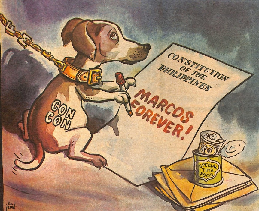 Look Back At The Philippine Free Press' Marcos-Era Editorial Cartoons 14