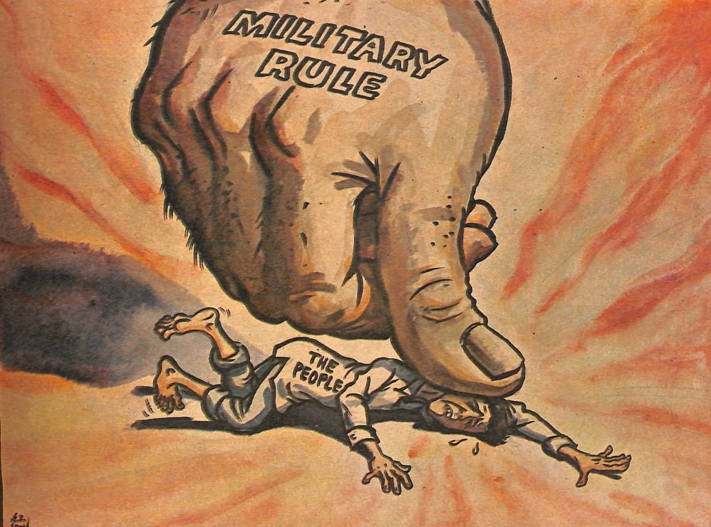 Look Back At The Philippine Free Press' Marcos-Era Editorial Cartoons 15