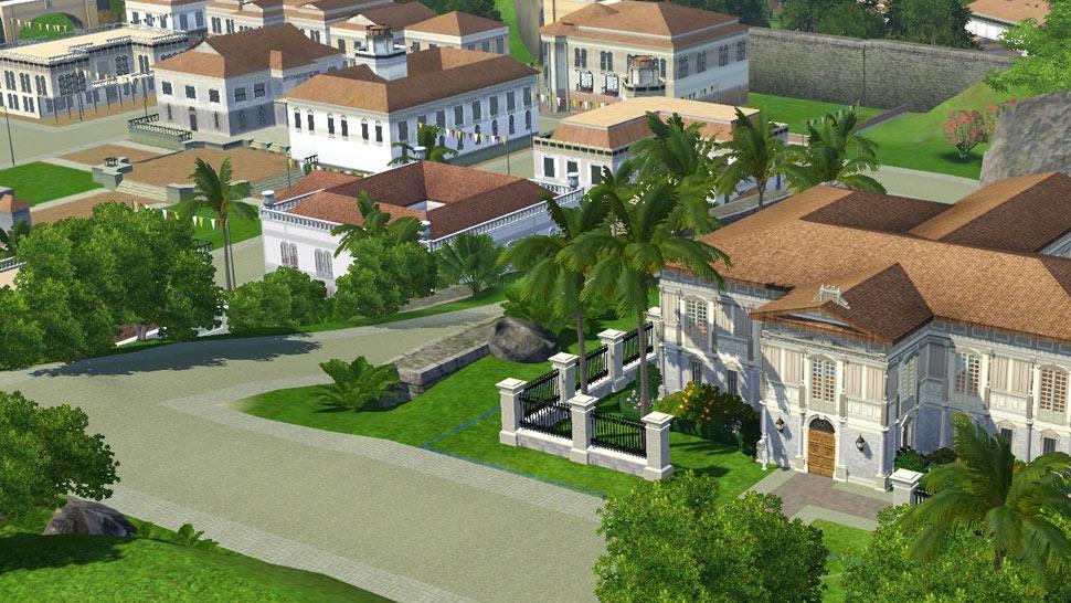 Somebody Built a Lifelike Spanish-Era Filipino City in The