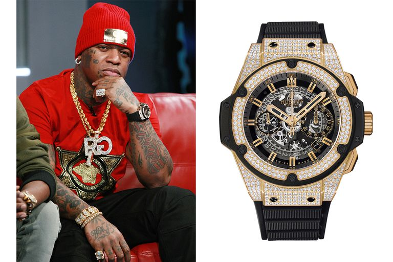 The greatest watches in hip hop history esquire ph for Rapper watches