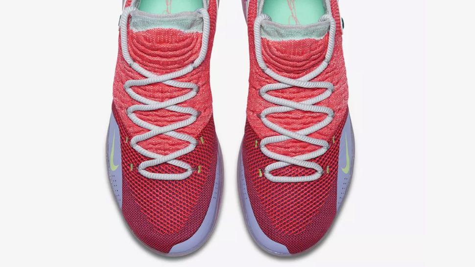 wholesale dealer 3de44 d5a92 Kevin Durant Wore The Nike KD 11  Peach Jam  to Manila