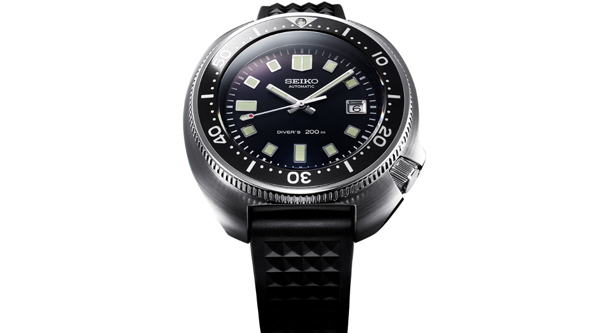 ed89bdc3133 Seiko Recreated Their Iconic  70s Dive Watch