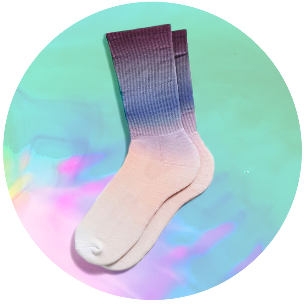 8174a9b7a571 ... into the skater-slash-stoner vibe tie-dye had back in the  90s. Wear  them under slim jeans with dress shoes and you can completely subvert the  office ...
