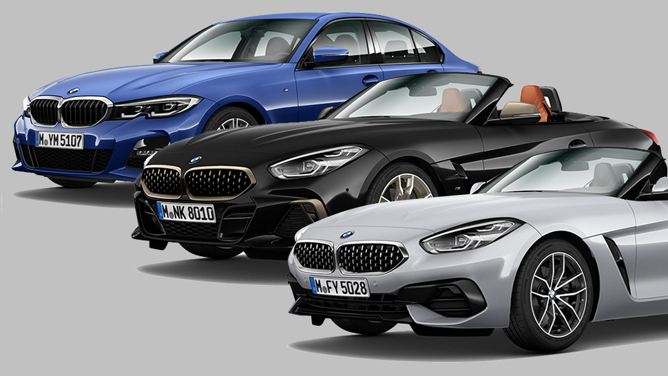 Bmw Unveils All New 3 Series And Z4 Roadster In The