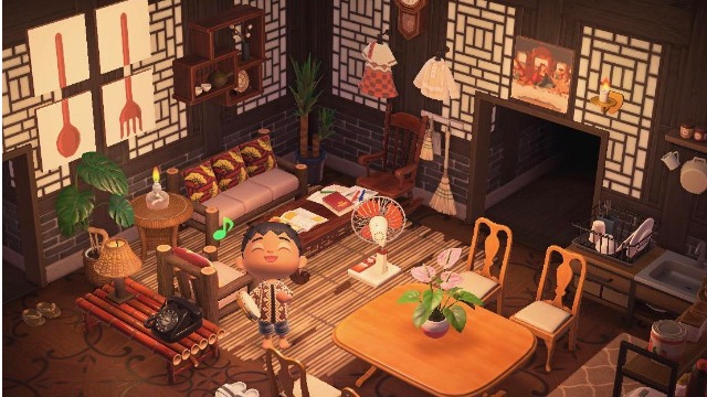 Somebody Created Filipino Themed Rooms On Animal Crossing