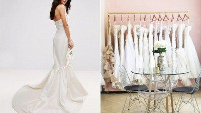 Wedding gown designs for principal sponsors giveaways