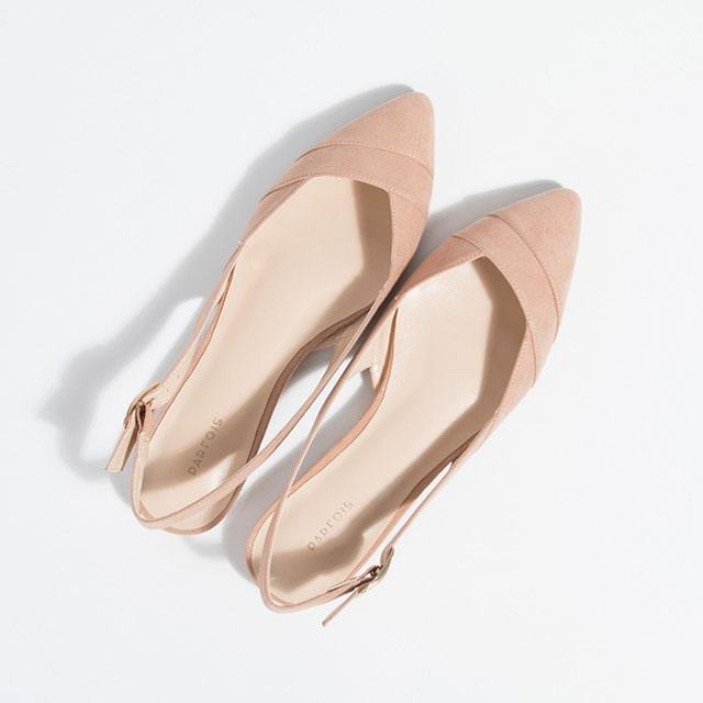 88de2f612 6. Who says flats can't make you look taller? Pick a pair with a pointed  toe and a low-cut vamp that shows toe cleavage.