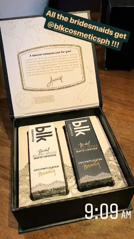 Anne Curtis Bridesmaids Get Limited-Edition Blk Bridal Lippies-2687