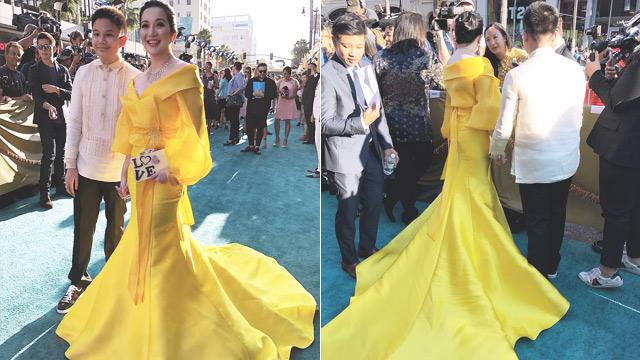 Kris Aquino Crazy Rich Asians Premiere Look   FN