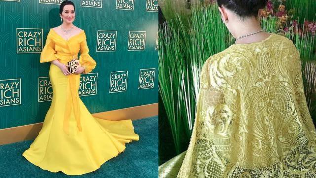 This Is The Dress Kris Aquino\'s Wearing In Crazy Rich Asians   FN