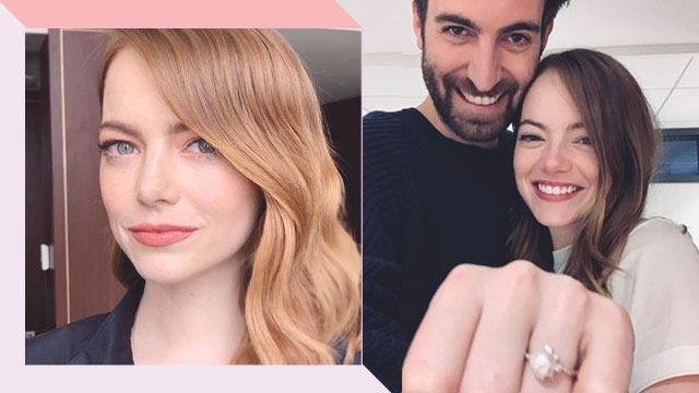 You Have To See Emma Stone's Unconventional Engagement Ring