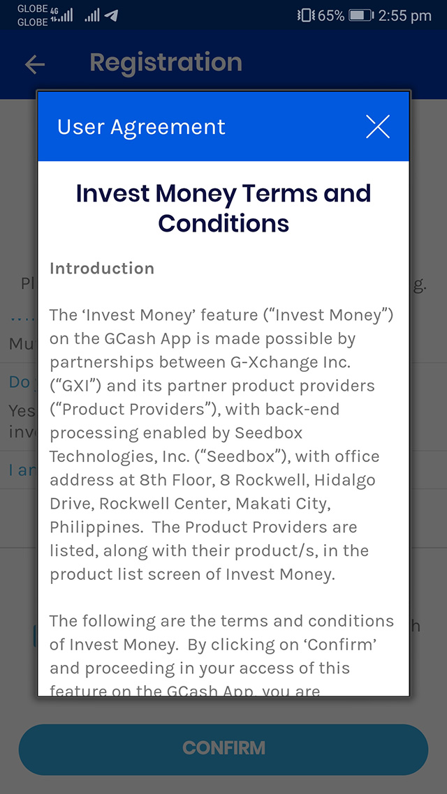 how to invest in gcash