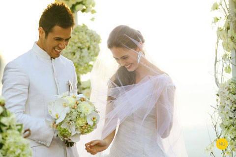 Featured Wedding: Kristine & Oyo, Part 1 | Bridal Book FN