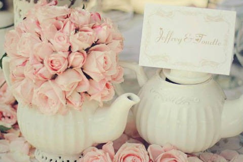 Key Elements For An English Garden Themed Wedding Bridal Book Fn