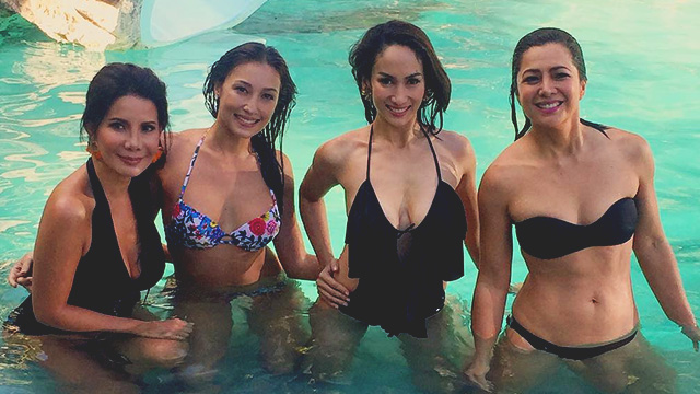 LOOK: Carmi, Solenn, Ina, And Alice In One Eye-Popping Bikini Snap