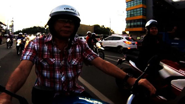 Motorcycle-Riding Duterte In Muntinlupa, A Hoax