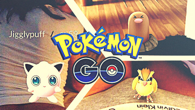 These NSFW 'Pokèmon Go' Selfies Prove Nothing's Sacred Anymore