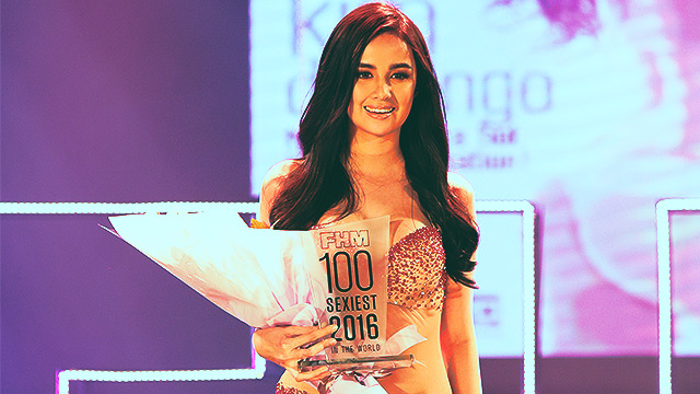 We Compiled Our Best Snaps Of Kim Domingo At The #FHM100Sexiest Victory Party