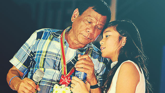 Digong Helping Kitty On SONA Homework Could Not Get Any Realer
