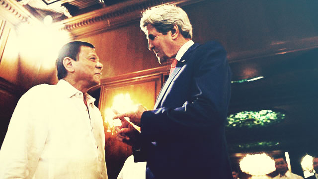 US Secretary Kerry, VP Leni Agree To Uphold Human Rights
