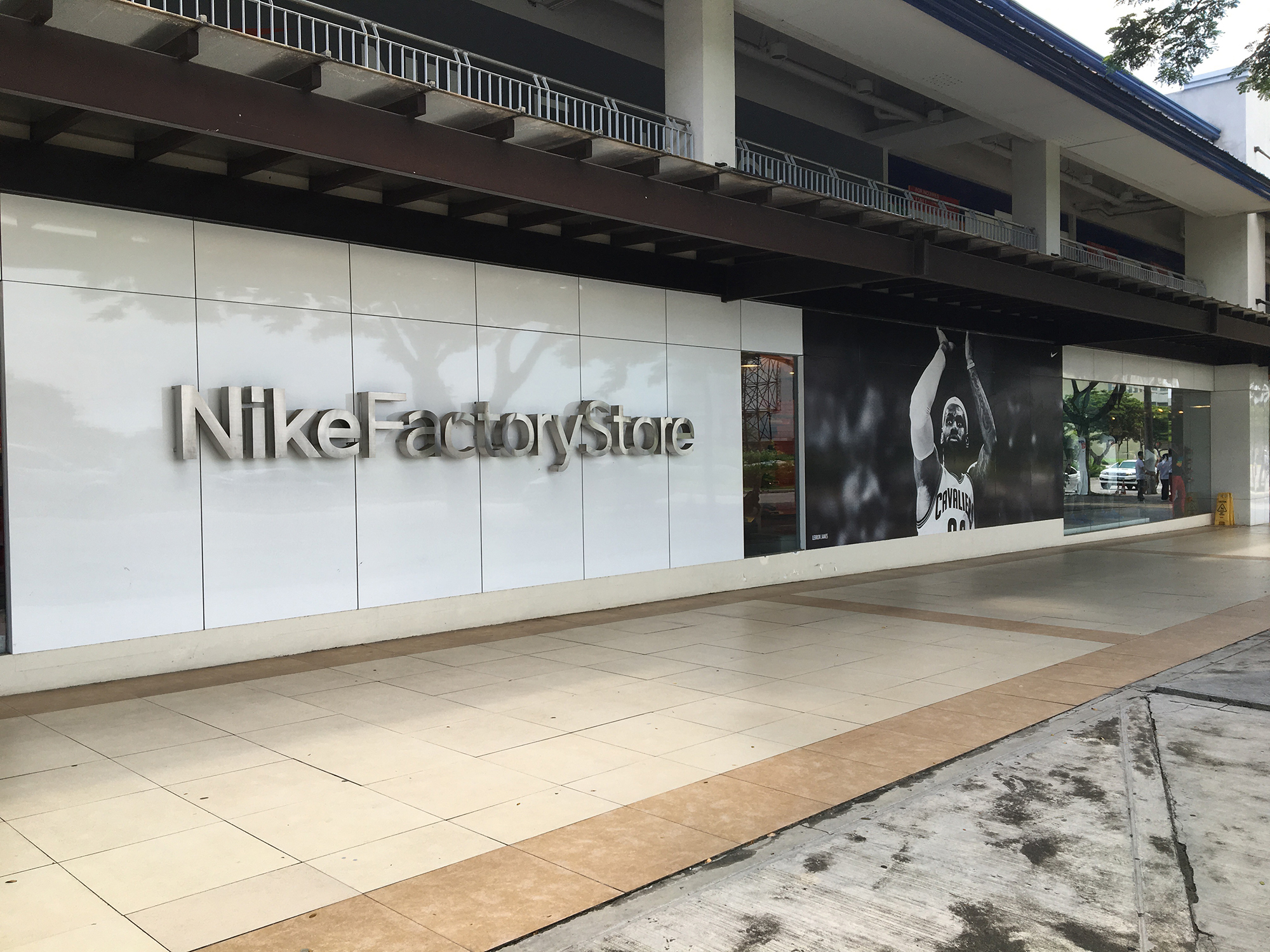 nike factory outlet paseo de sta rosa contact number