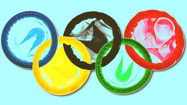 A History Of Condoms In The Olympic Village