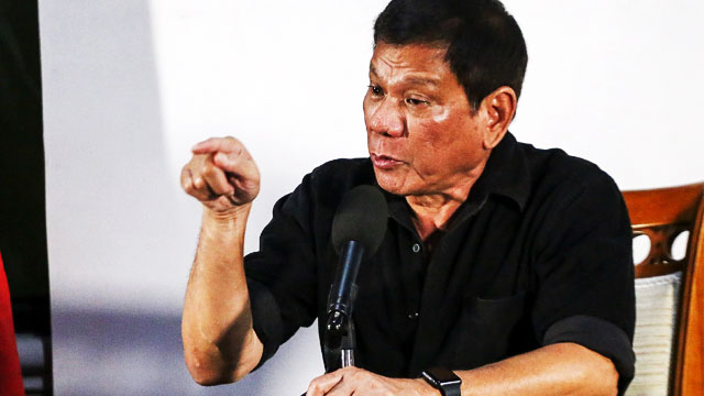 Duterte To Tax Evaders: You're Next