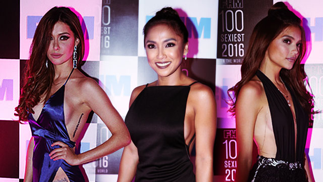 The Slit And Sideboob Wars At The #FHM100Sexiest Victory Party