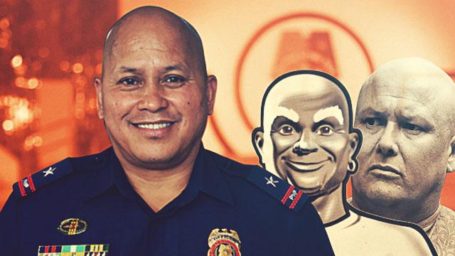 The Many Faces Of PNP Chief Ronald 'Bato' Dela Rosa
