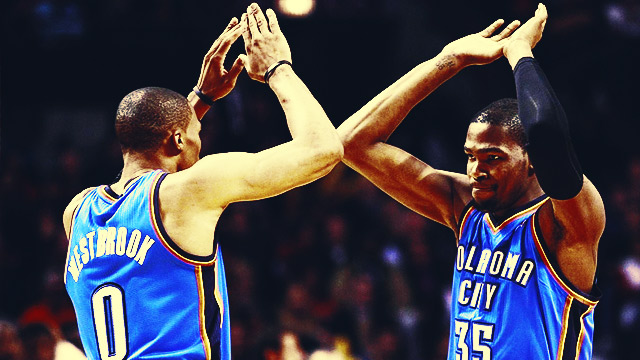 Requiem For A Super Tandem: The Best Kevin Durant-Russell Westbrook Connections