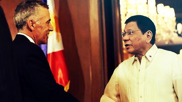 PHL Envoy Summoned By US Over Duterte's 'Gay' Remarks Vs. Ambassador