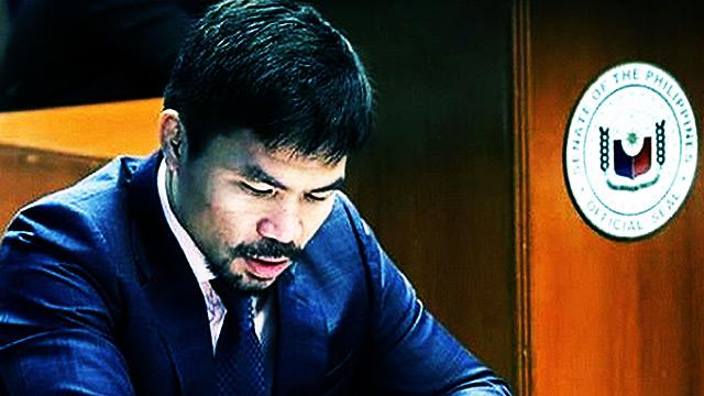 Pacquiao Invokes Name Of God To Back Marcos Burial At Libingan Ng Mga Bayani