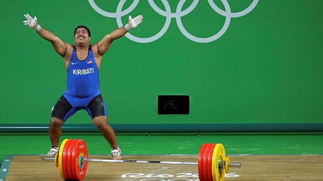 There's A Sad Reason Behind Weightlifter David Katoatau's Happy Dance At The Rio Olympics