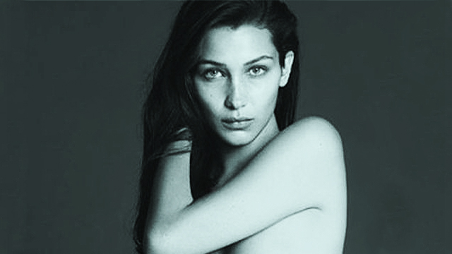 LOOK: Bella Hadid Goes Nude For 'Vogue'