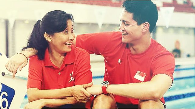 Olympic Gold Medalist Defends His Pinay Nanny From Bashers