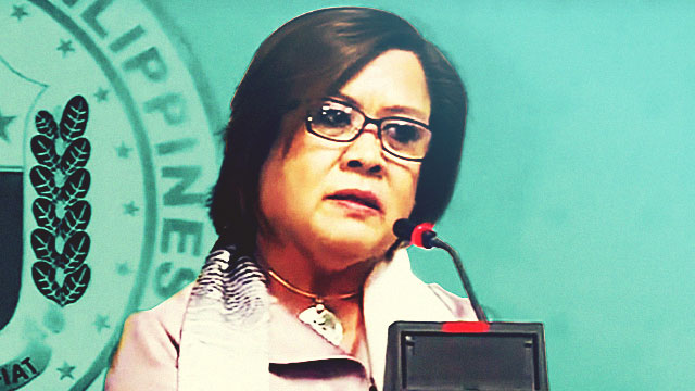 Teary-Eyed De Lima Asks Duterte To Stop Personal Attacks