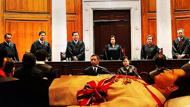 Supreme Court Stops Marcos Burial For 20 Days