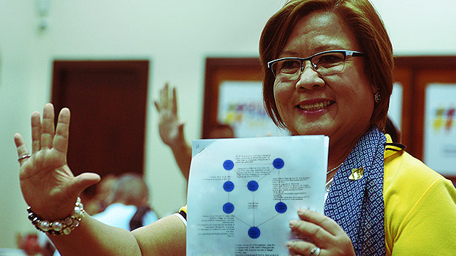 De Lima On Duterte's Drug Matrix: 'It Belongs To The Garbage Can'