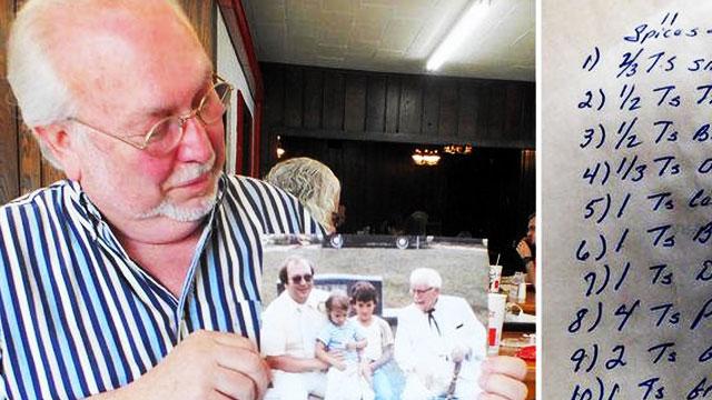 Col. Sanders' Nephew Just Revealed KFC's Secret Recipe