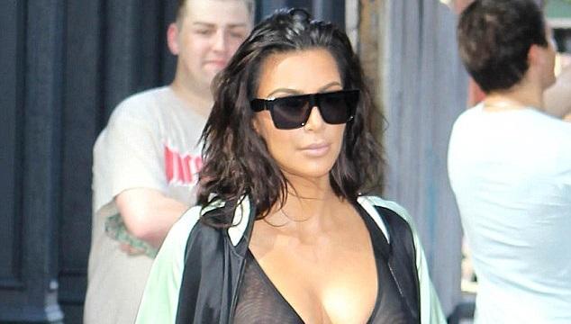 LOOK: Kim Kardashian Frees The Nipple In Sexy Dress
