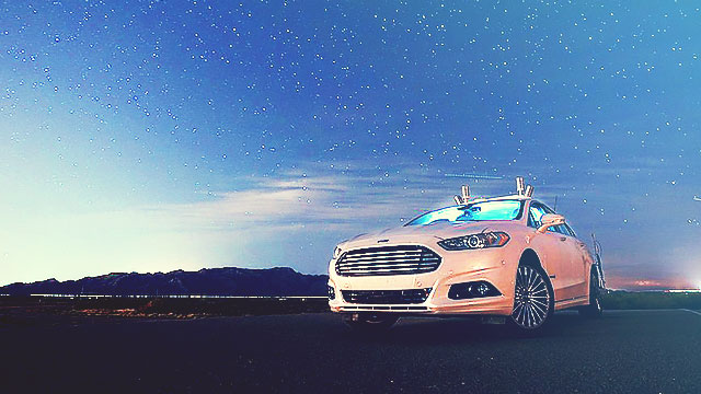 Ford Promises Driverless Cars In Five Years