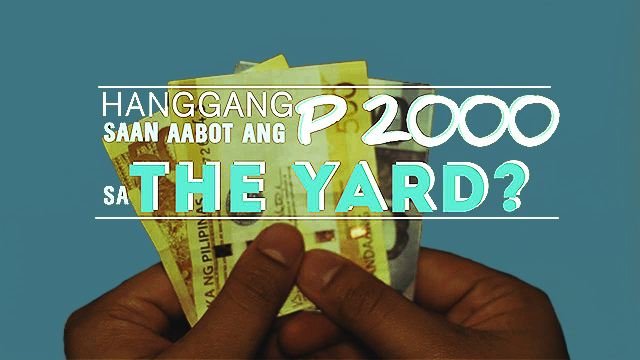 The P2,000 Food Trip Challenge At The Yard