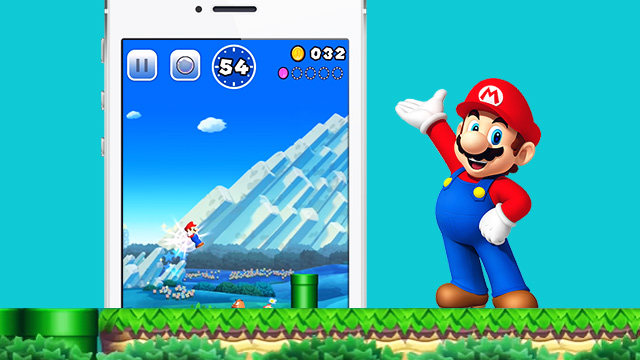 Super Mario Run For iPhone 7 Looks Pretty Neat