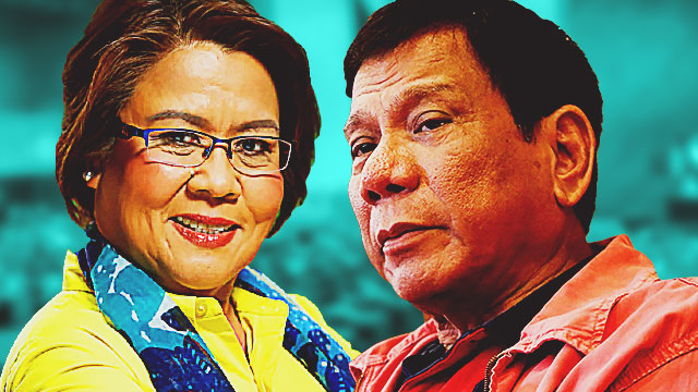 De Lima Believes Duterte Is Behind Her Ouster