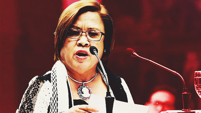 De Lima Fires Back At Detractors In Privilege Speech