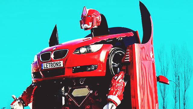 More Than Meets The Eye! Let This BMW Autobot Transform Your Garage